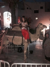 Belly Dancer Katia Exotic Animal Camel