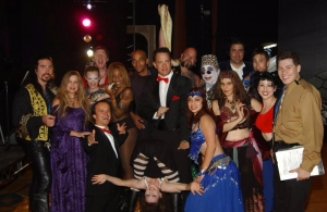 Katia Belly Dancer with Tom Hanks, Debra Wilson 'Mad TV' at the Gindi Theater.