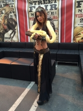 Snake Charmer Belly Dance Katia