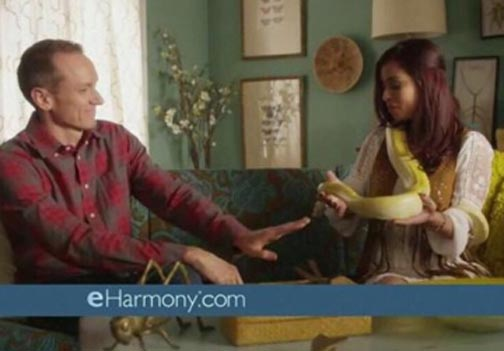 Eharmony Commercial Snake Lady
