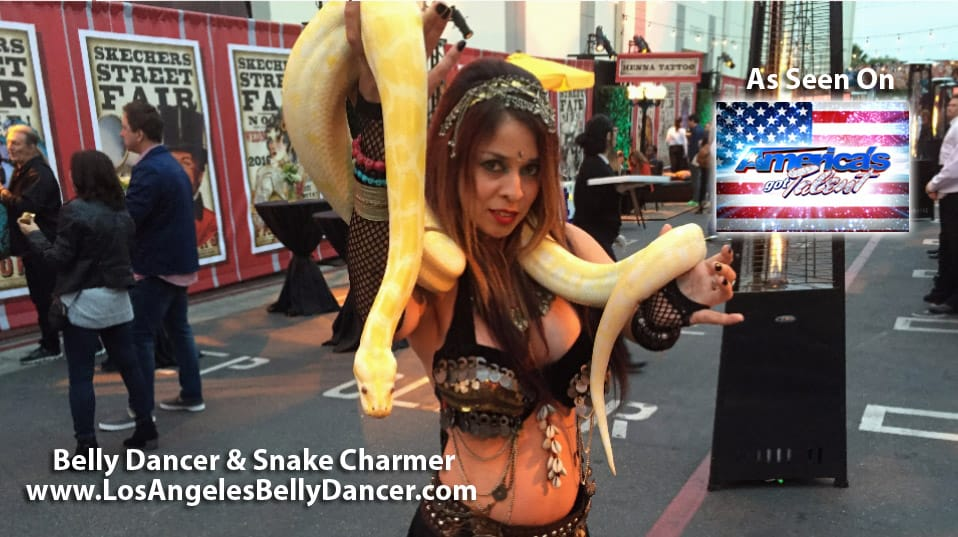 Snake Charmer Belly Dancer