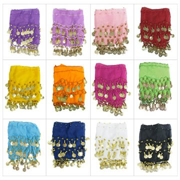Los Angeles Hip Scarves for Dancing
