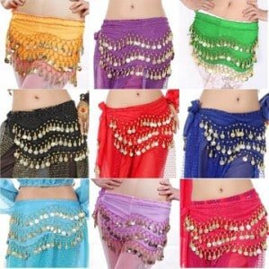 Great Quality Imported Hip Scarves